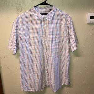 Cremieux Classics Short Sleeve Button Down